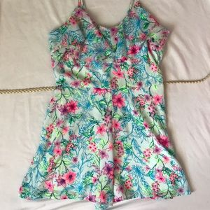 Candie's Pants - Candies floral romper size 3